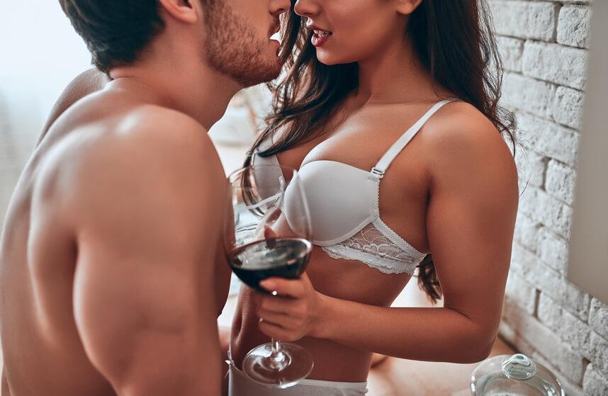 Sexy couple is having an affair